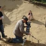 Shooting dunes scene