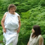 Hera runs after Zeus