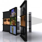 Design 2e. Video projection. Portable screens